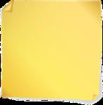 post-it yellow
