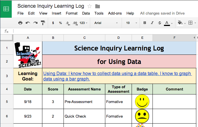 Learning Logs To Inspire And Guide Student Growth The